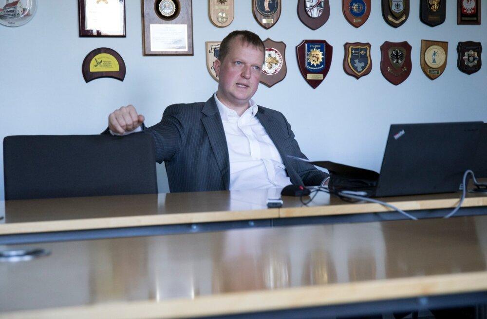 Rahapesu andmebüroo (RAB) juht Madis Reimand
