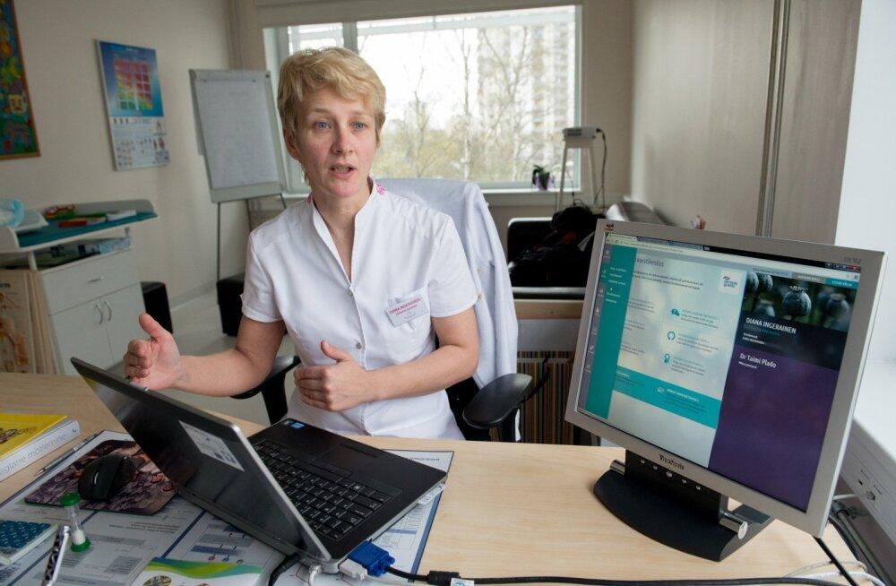 Diana Ingerainen, e-perearstikeskus