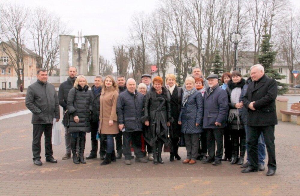 Peterburi ettevõtjad Kohtla-Järvel