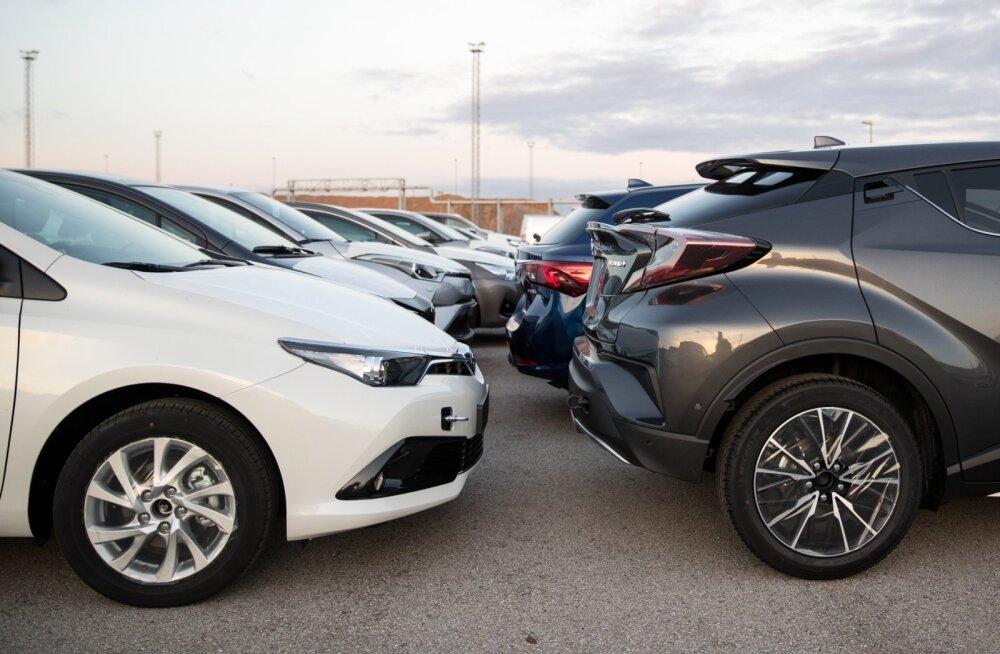Loe, milliseid automarke uues sõidukiportaalis kõige rohkem otsitakse