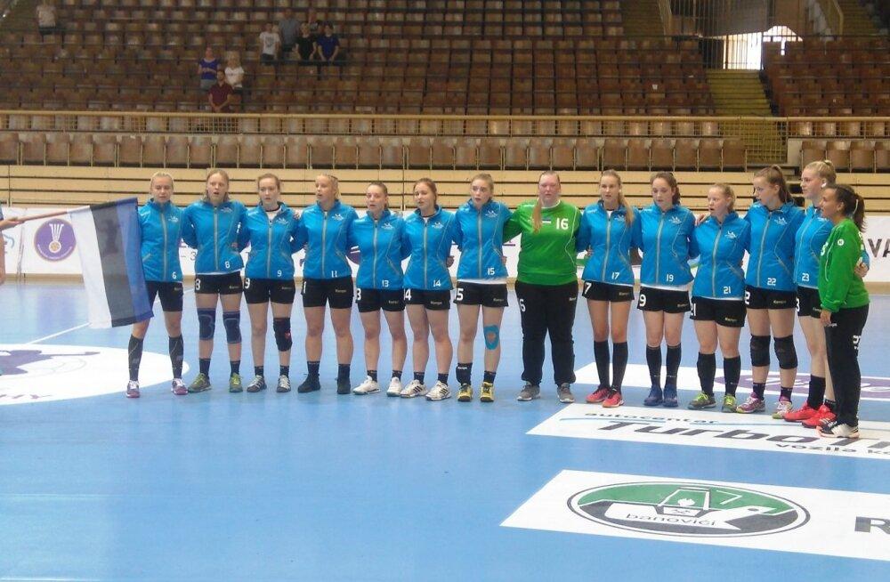 Eesti U18 neidude käsipallikoondis