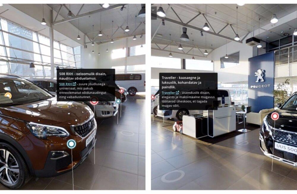 Vaata ja vali kodust lahkumata: Eestis avati esimene virtuaalne automüügisalong