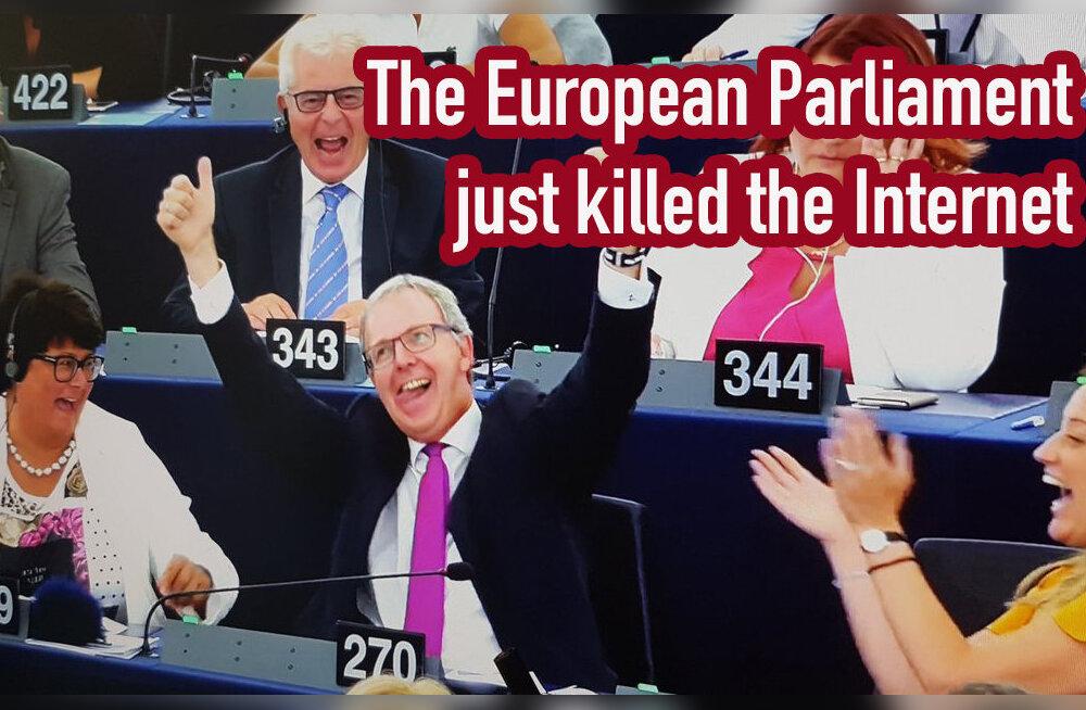Euroopa Parlamendi autoriõiguste kaitse reform tekitab spetsialistides palju teravaid küsimusi