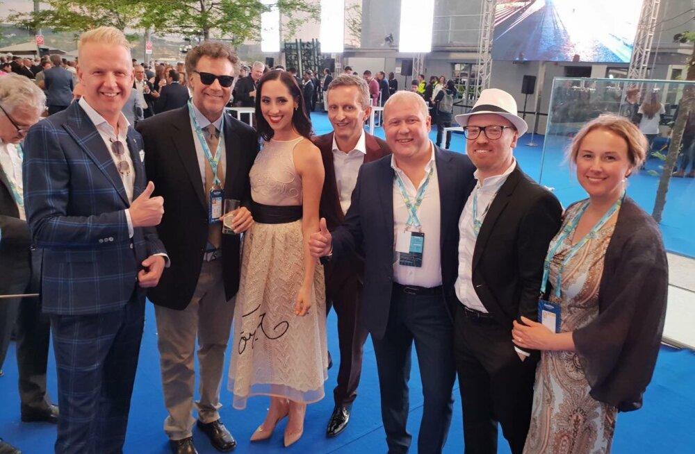 VAHVA KLÕPS | Eesti eurotiim tutvus Eurovisioni avapeol maailmakuulsa näitleja Will Ferrelliga