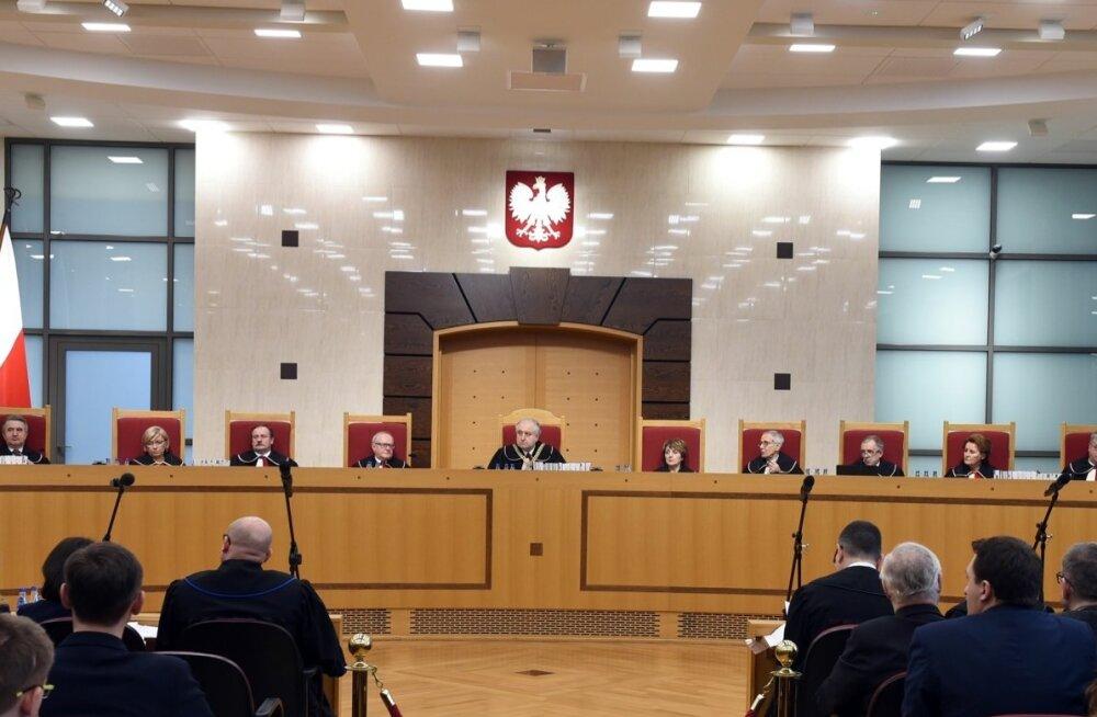 Poola põhiseaduskohus kuulutas enda kohta käivad seadusemuudatused põhiseadusevastasteks