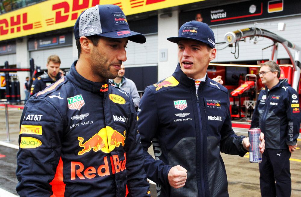 Red Bulli boss: Daniel Ricciardo lahkus, sest kartis jääda Verstappeni varju