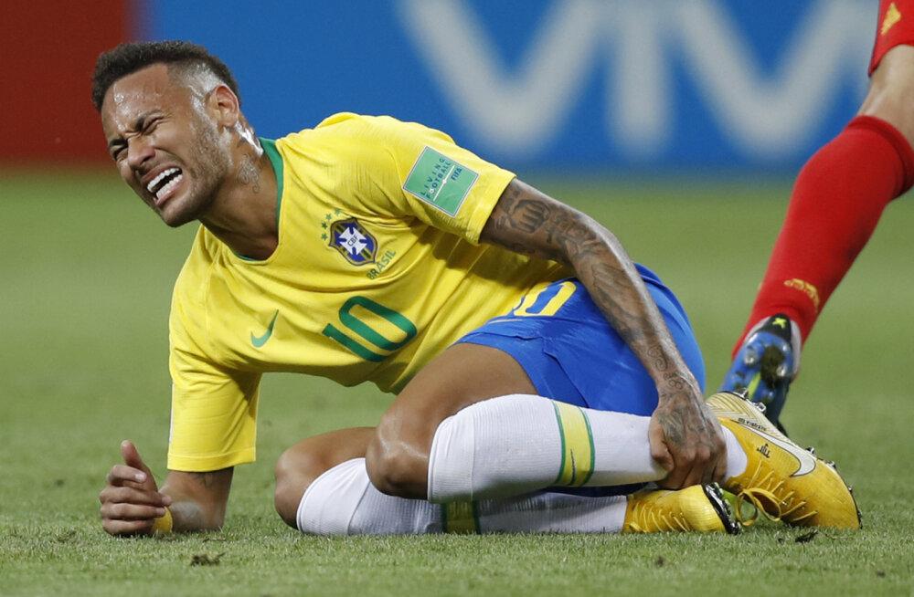 Neymar mängus Belgiaga