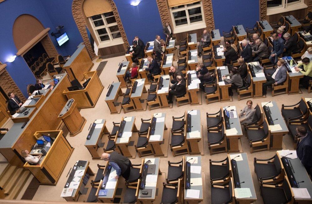 Riigikogu ööistung 14.12.16