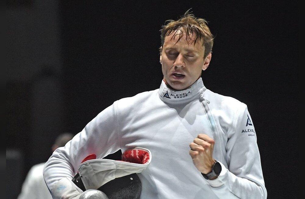 Nikolai Novosjolov, väsinud, kuid rahul.