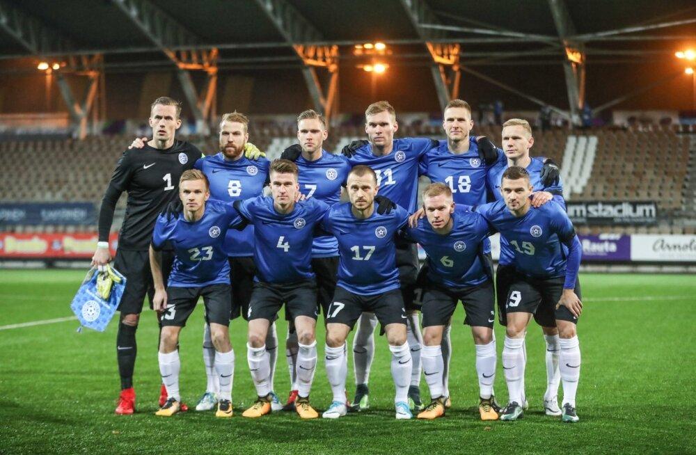 Eesti - Soome maavõistlus jalgpallis