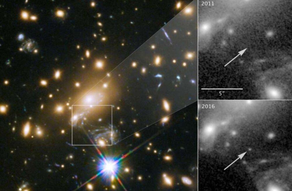 Astronoomidel õnnestus kiigata eriti kaugesse minevikku: see on Maast kaugeim teadaolev täht