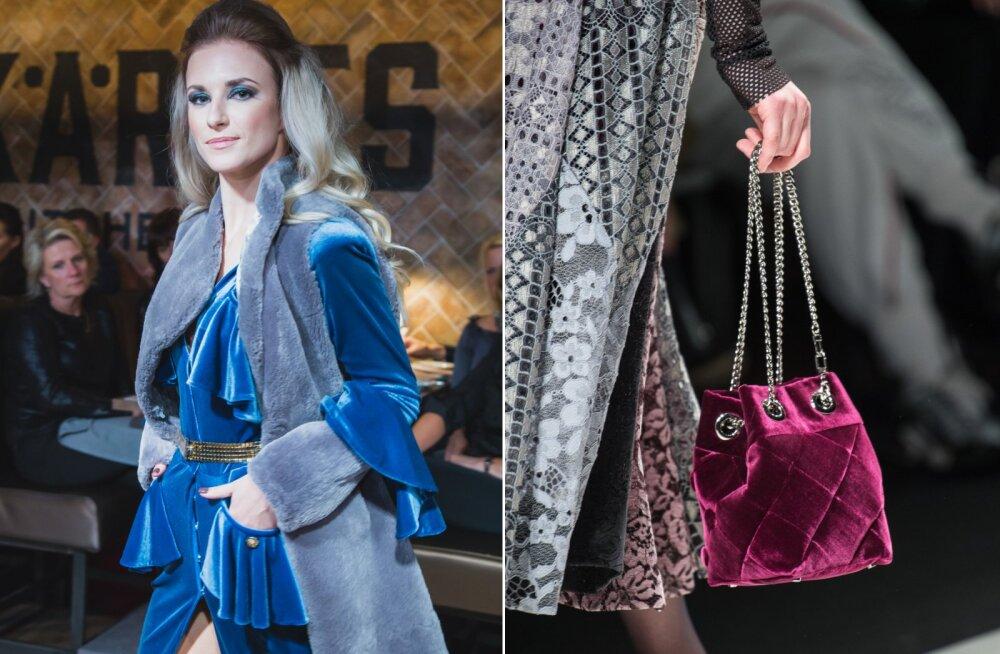 В моде бархат: органично, стильно и оригинально!