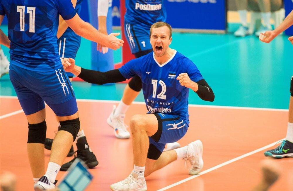 Hea uudis: Eesti võrkpallikoondis paigutati Challenger Cupil nõrgemasse alagruppi