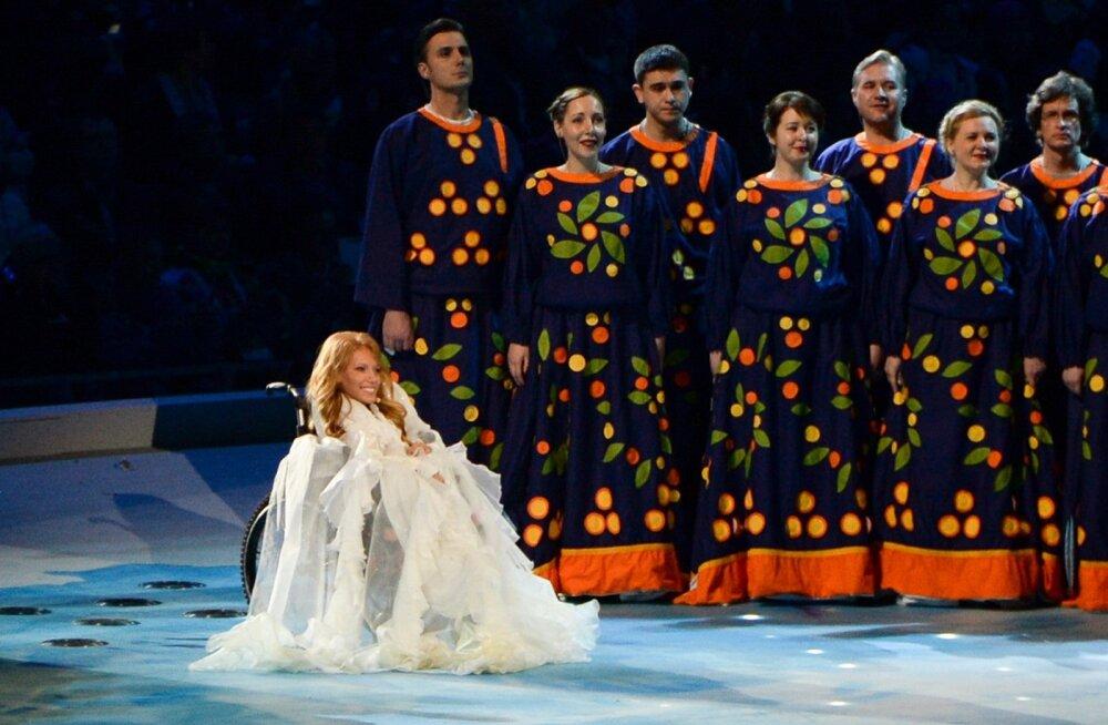 Kreml: Ukraina peab järgima reegleid ja Vene laulja Eurovisioni lauluvõistlusele lubama