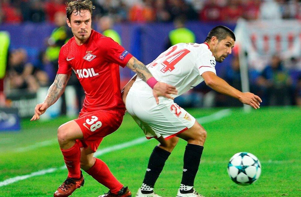 Sevilla vs Spartak