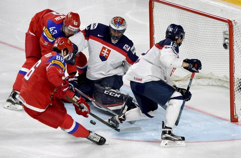 Jäähoki Venemaa vs Slovakkia