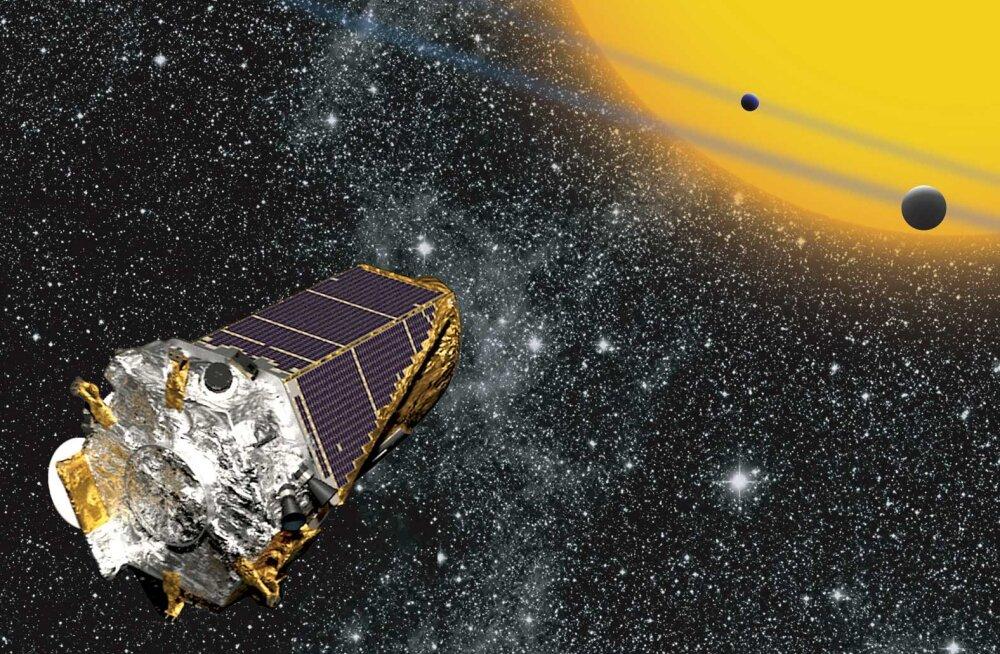 Hüvasti, ja aitäh kõigi nende planeetide eest! NASA saadab Kepleri-nimelise taevakiikri teenitud puhkusele