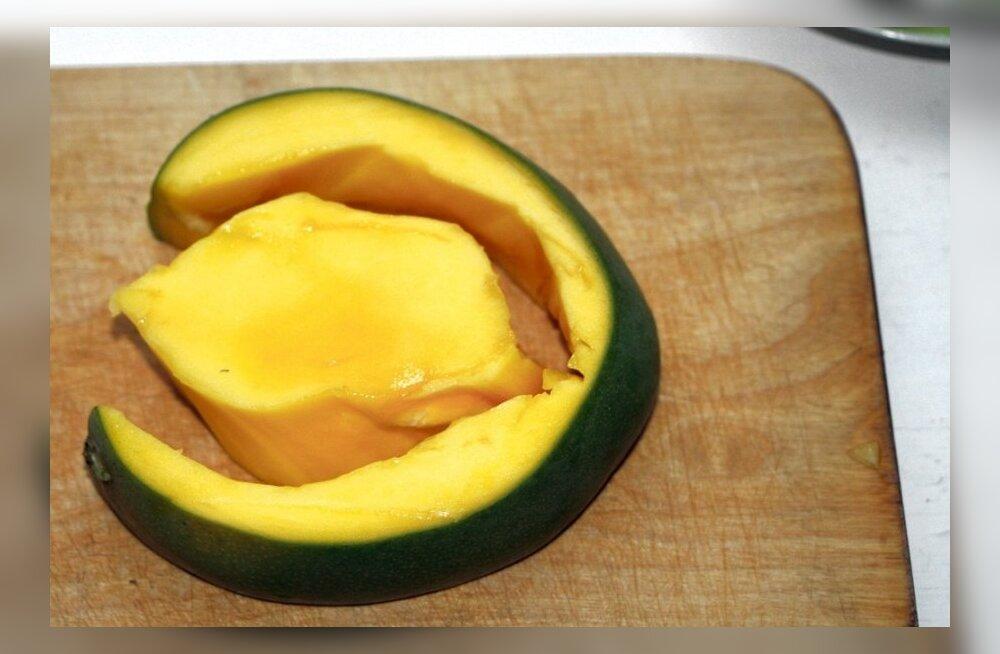 VIDEO: Õigete võtetega saab mangost efektse lisandi toidulauale