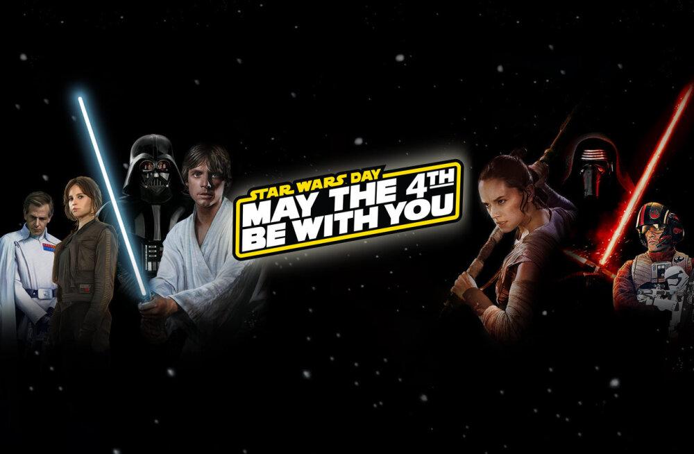 """Olgu neljas teiega ehk head """"Star Warsi"""" päeva!"""