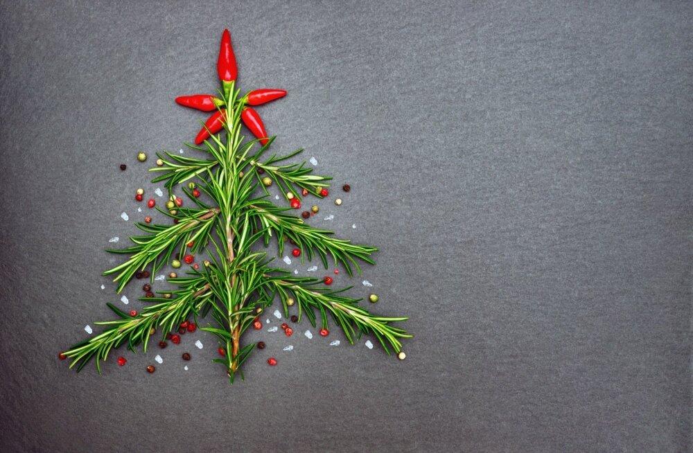 Rosmariin ja tšilli on parimad jõululaua kaaslased.