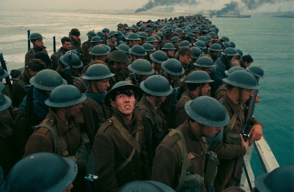 """""""Dunkirk"""" annab vastupandamatu jõu ja emotsiooniga edasi ajaloolist sündmust Dunkerque'i rannal liitlasvägede sissepiiramisest, tekitades vaatajas samasuguse lõksus olemise tunde."""