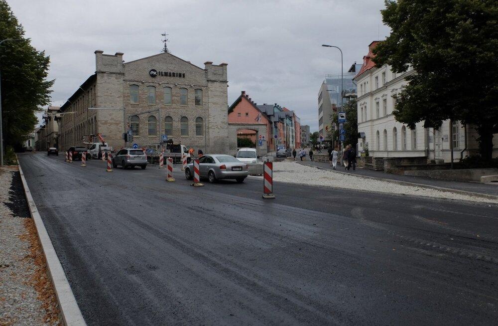 Дороги и тротуары Пыхья-Таллинна отремонтированы на сумму 1,37 миллиона евро
