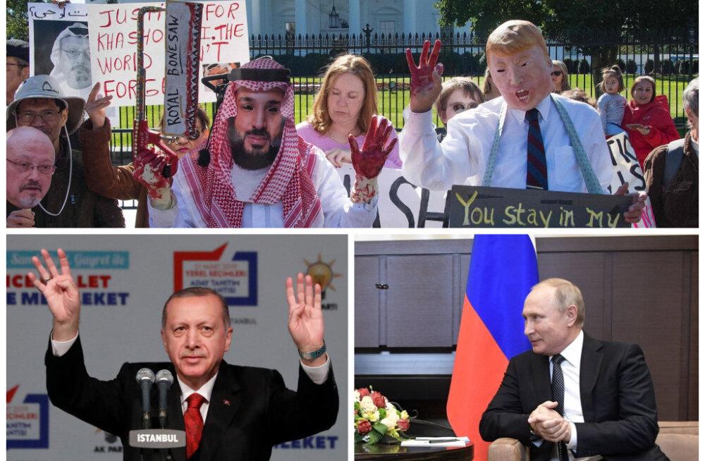 Toomas Alatalu: maailma vägevaid kamandavad Türgi sultan ja Saudi Araabia veriste kätega kuningas