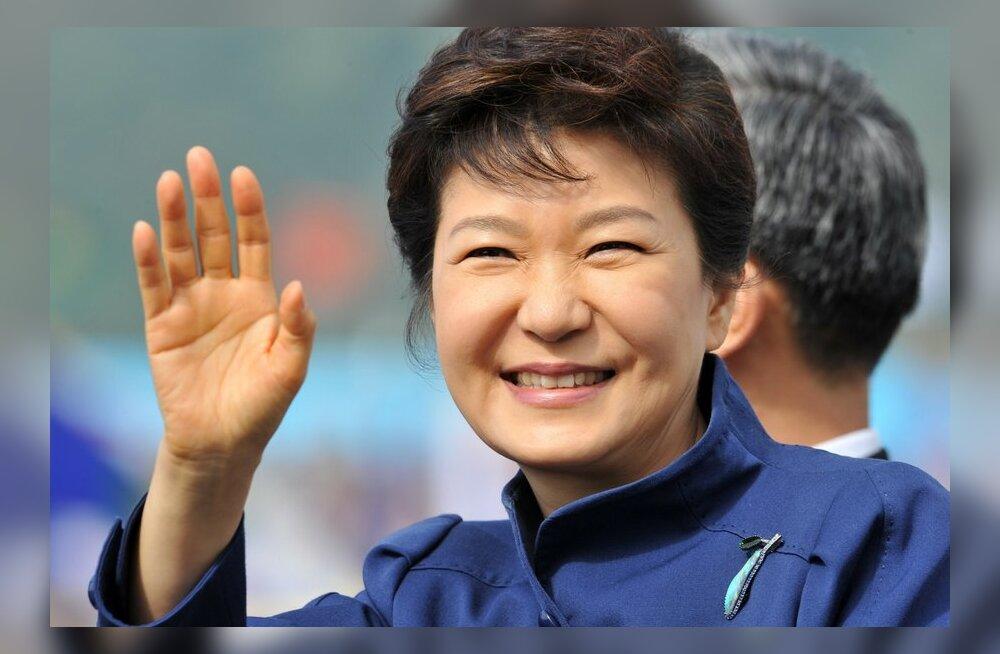 Lõuna-Korea luureskandaal kipub ohustama presidenti
