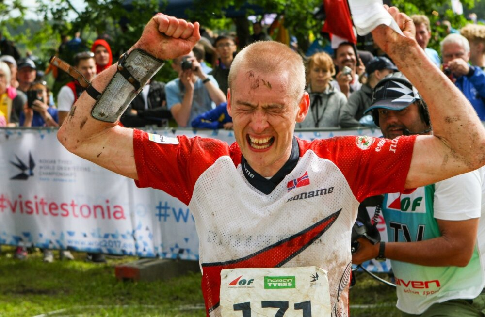 Neljakordne maailmameister, norralane Olav Lundanes, läheb metsas igalt poolt otse.