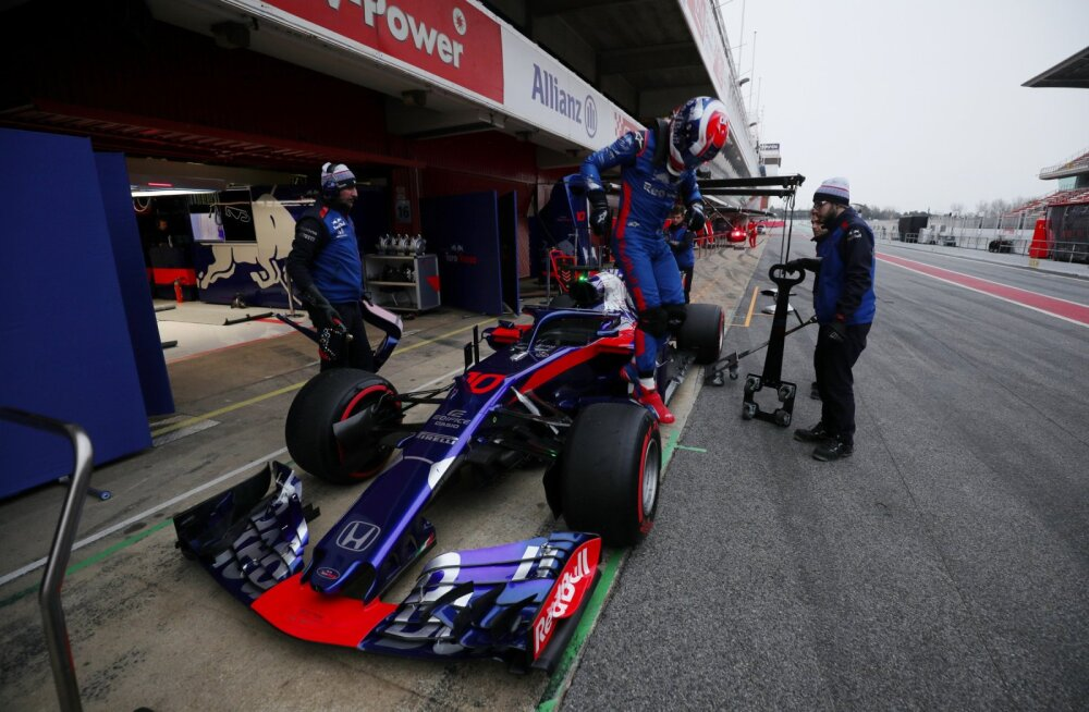 Toro Rosso sõitja Pierre Gasly
