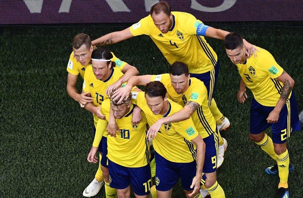 Praeguse Rootsi koondise relvaks on ühtsus ja organiseeritus.