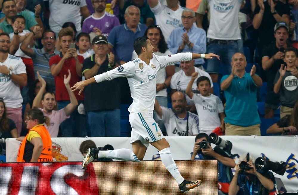 Cristiano Ronaldo omas elemendis ehk tähistamist vajab järjekordne värav.
