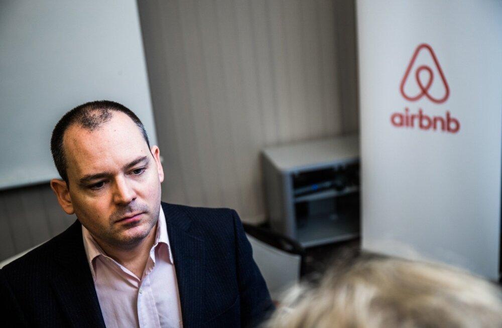Airbnb Euroopa, Lähis-Ida ja Aafrika regioonide avaliku poliitika direktor Patrick Robinson