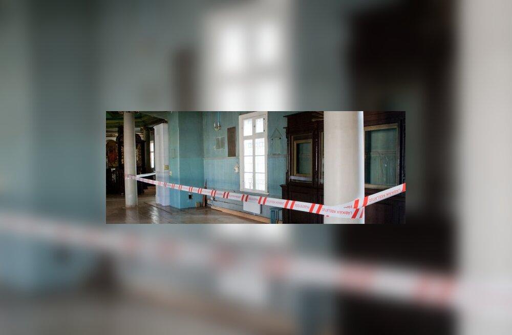 FOTOD: Tallinnas põles Kaasani pühakuju kirik