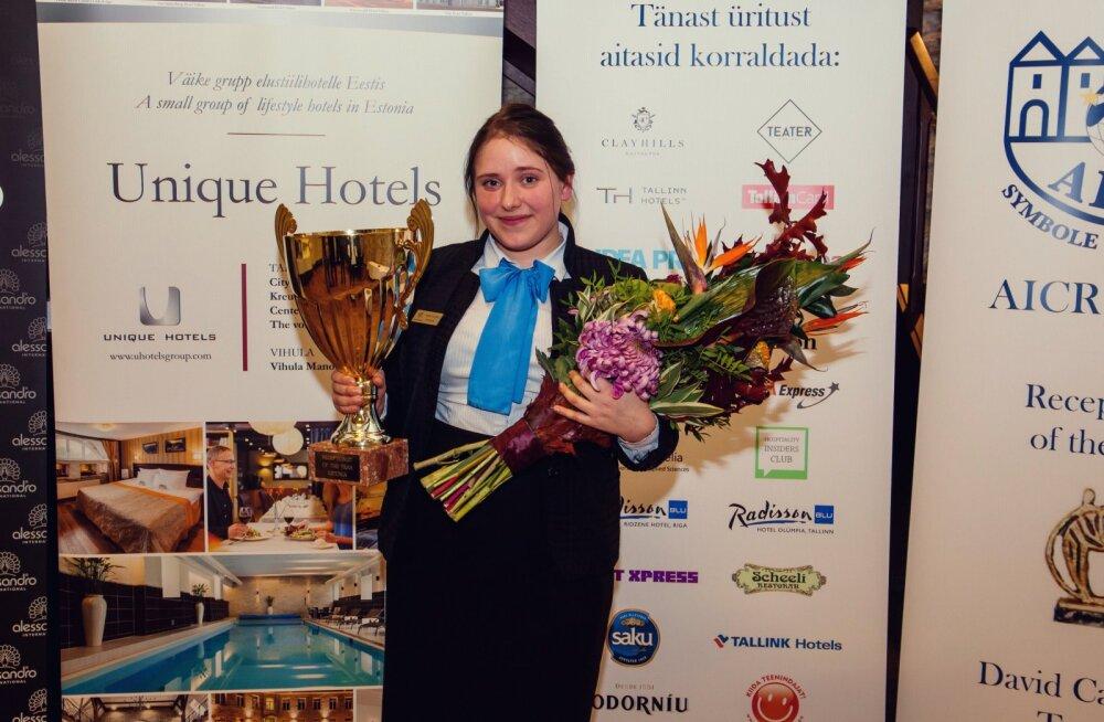 Eesti parima hotelliadministraatori tiitli sai Telegraafi töötaja: esimene koht toob külmavärinad peale ja olen väga õnnelik!