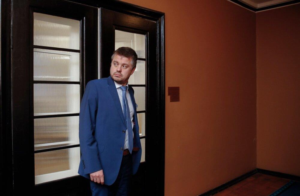 Justiitsminister Urmas Reinsalu eile pärast EKRE fraktsiooniga kohtumist