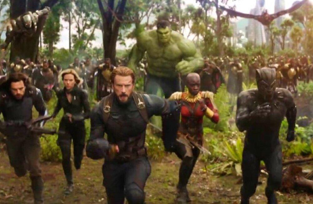 """Marveli """"Tasujad: Igaviku sõda"""" treiler purustas kõik rekordid"""