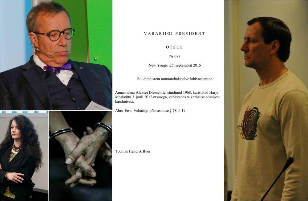 ÜLEVAADE: President Ilveselt said kümne aasta jooksul armu vaid 16 inimest. Kes nad on?
