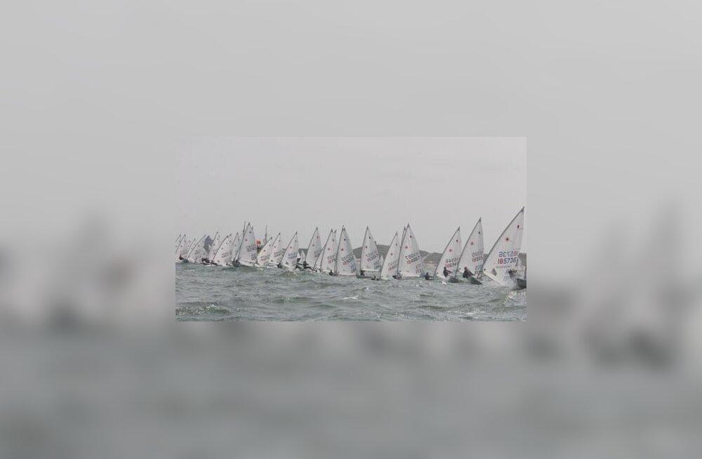 07e7b2f8236 W3 uudised - Eesti noored purjetajad olid MM-il võistlustules