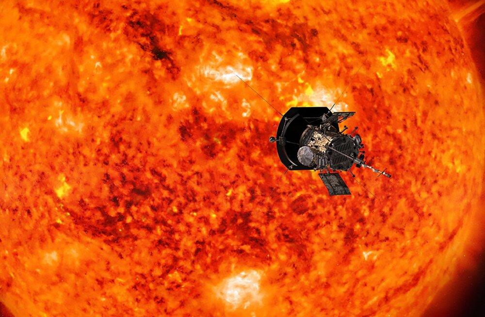 Testklõps: Parkeri päikesesondi tehtud esimesed fotod jõudsid Maale