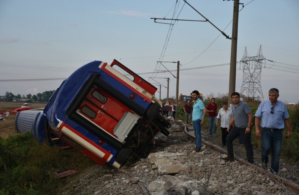 Türgi rongiõnnetus