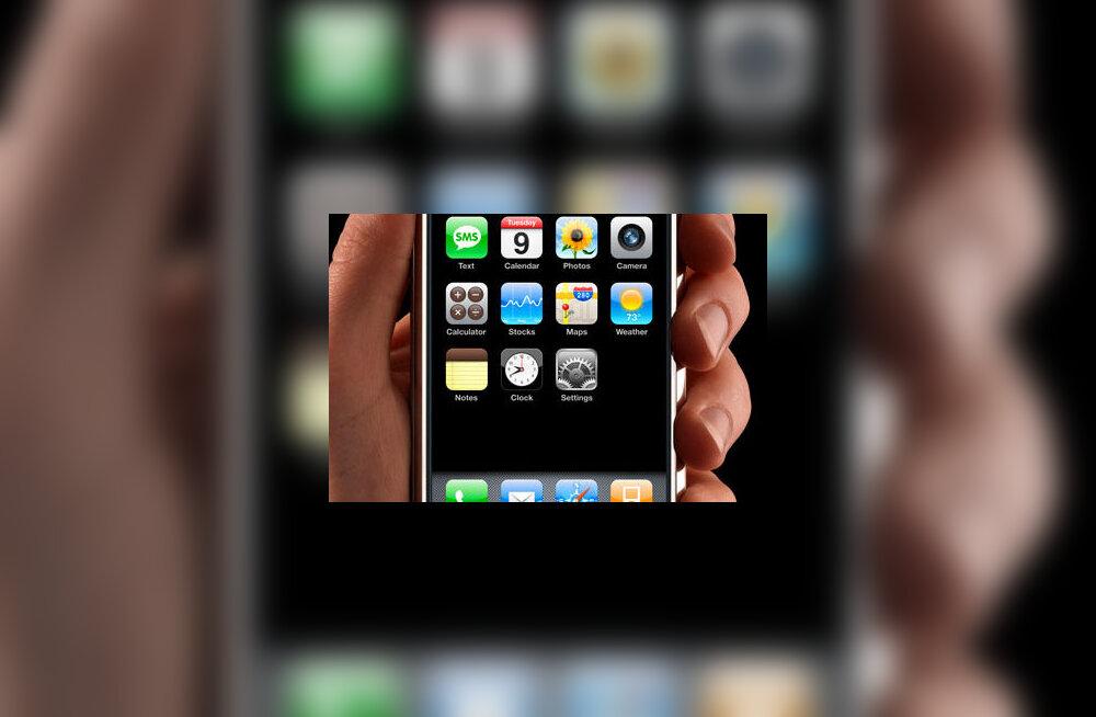 Apple avas Eesti iPhone'i omanikele uksed võrgupoodi