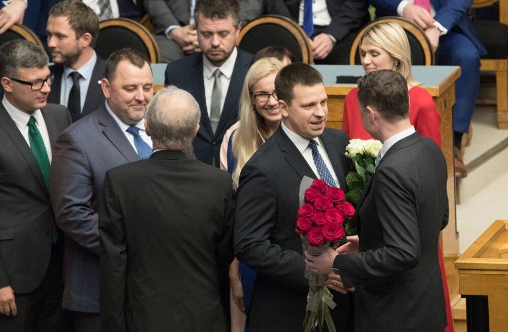 Jüri Ratase valitsus andis riigikogus ametivande