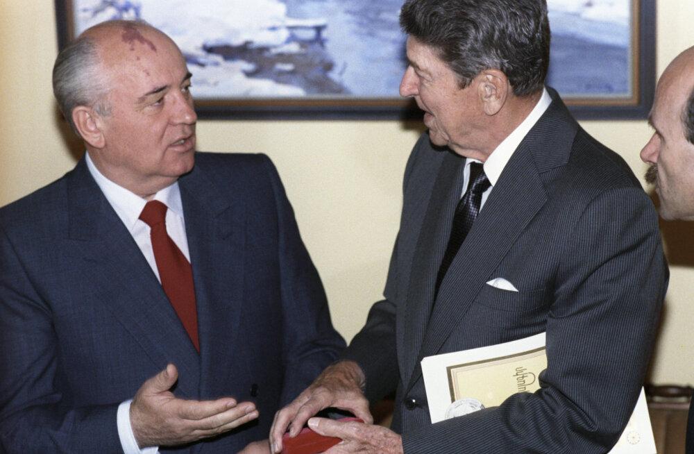 NSV Liit 1987: Ronald Reagan tegi just seda, mida Moskvas kõige rohkem kardeti