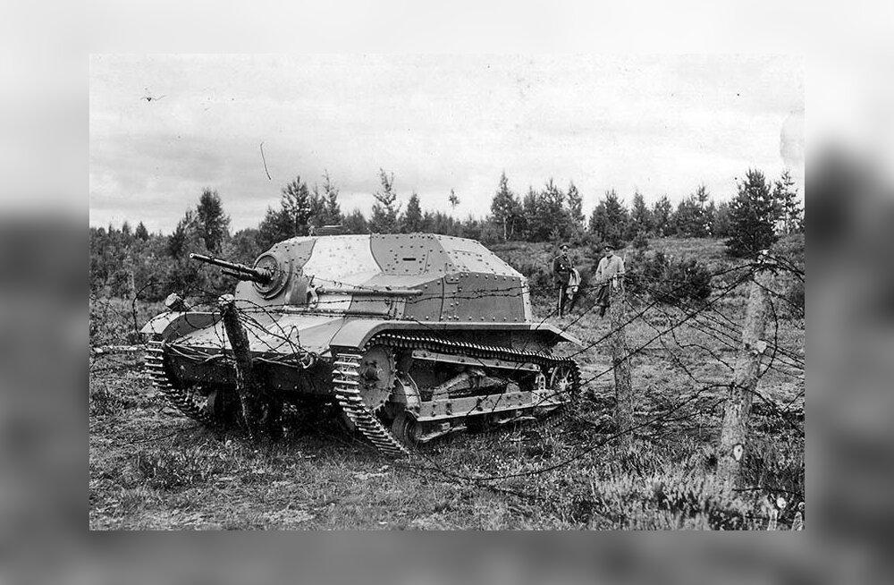 """Katkend raamatust """"Eesti tankid. Tankid Eestis 1919-2019"""": kuhu kadusid Eesti tankid 1940. aastal?"""