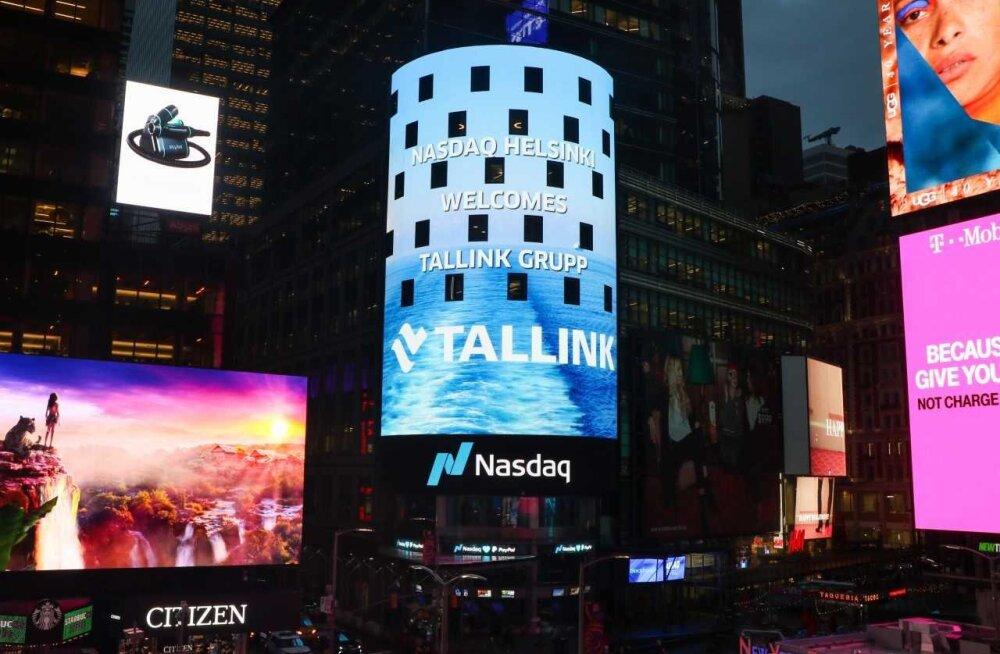FOTO ja VIDEO   Tallinki aktsiat tervitati Helsingi börsil. T-tähe alt ei maksa aga ettevõtet börsinimekirjast otsida