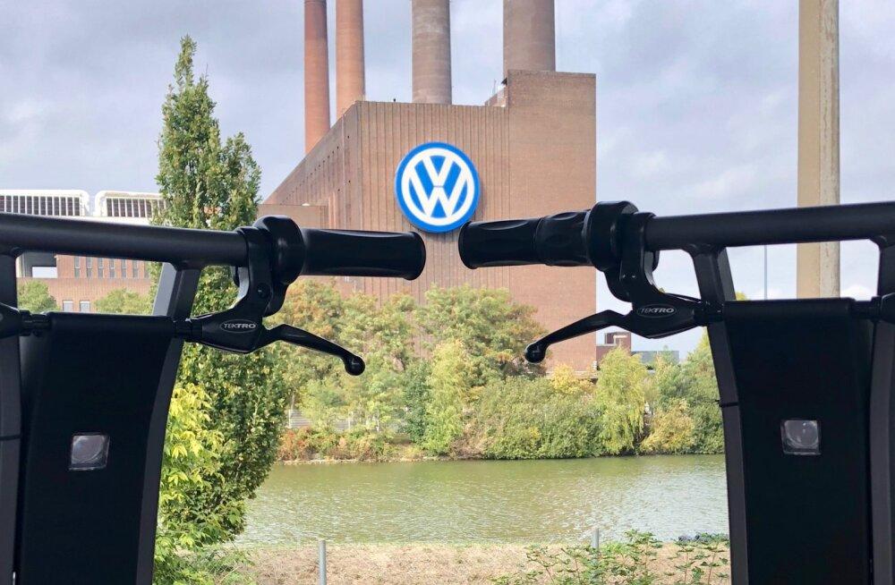 Volkswagen hakkas kasutama eestlaste rollerirendi teenust