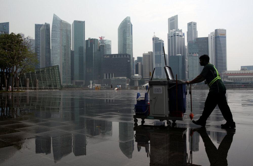 Singapuri majanduskasv rebis maast lahti
