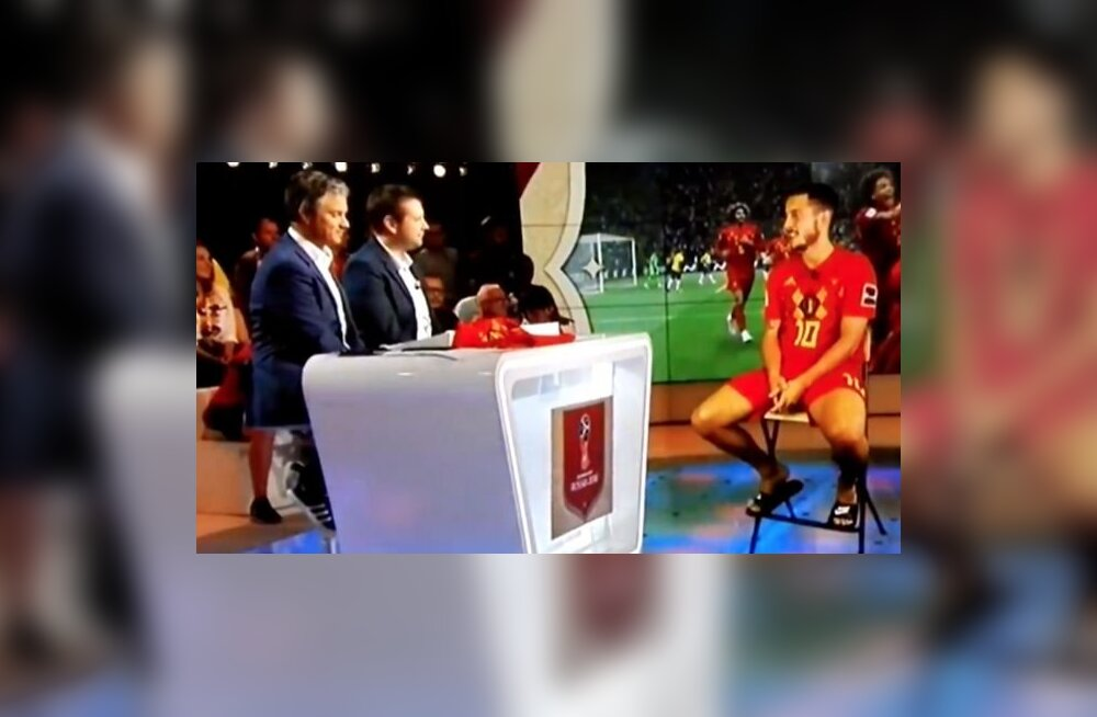 Hazardi intervjuu Belgia telekanalile
