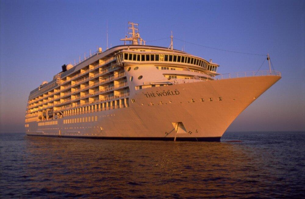 Maailma kõige luksuslikuma kruiisilaeva odavaim kajut maksab kolm miljonit eurot